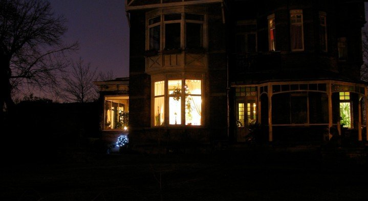 Villa Emma by night