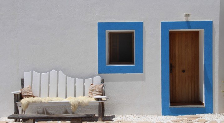 relaxplekje  Very special guesthouse Ibiza Cami des Turs San Miguel Ibiza