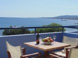 sea view from Apartment bed & breakfast Paraktio Beach Apartments Kiotari Beach Rodas