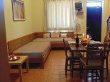 Apartment inside bed and breakfast Paraktio Beach Apartments Kiotari Beach Rodas