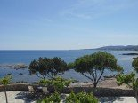 sea view from Apartment B&B Paraktio Beach Apartments Kiotari Beach Rodas