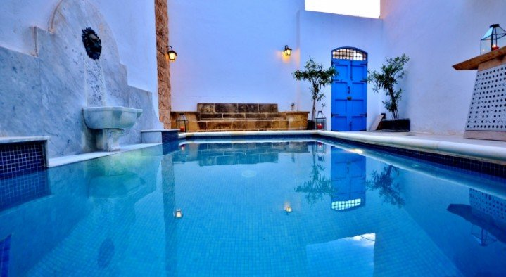 pool  Chapel 5 Palazzo Suites Malta B and B 5 Alley 5 St Lucy Street Naxxar Naxxar