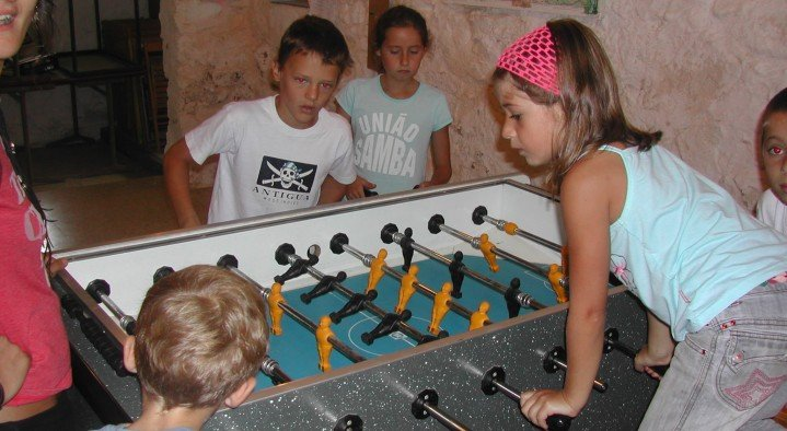 Table Football - passion for all ages!  Can Banal Rural ctra. de Sant Eudald de Jou, km 2 Montagut