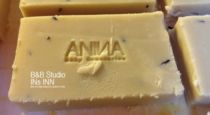 Homemade olive oil soap by ASC  B&B Studio INs Inn Corduwaniersstraat 11 Ghent