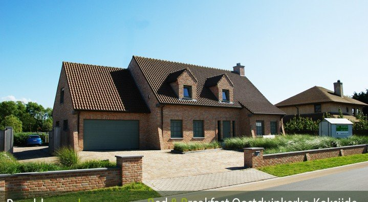 bed & breakfast oostduinkerke beachhouse voorkant  Beachhouse B&b pylyserlaan 158 Oostduinkerke