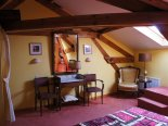 "la chambre ""jaune""   bed and breakfast B&B   Le Gite Du Passant 1 rue de La Lobe Arry"
