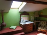 "la chambre ""verte""   bed and breakfast B&B   Le Gite Du Passant 1 rue de La Lobe Arry"