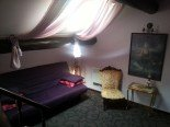 "la chambre ""violette  bed and breakfast B&B   Le Gite Du Passant 1 rue de La Lobe Arry"